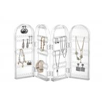 Buy cheap Portable Acrylic Jewellery Display Stands Ring Holder Stores 260 Earrings Tabletop from wholesalers