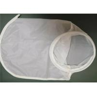 China Plain Weave Monofilament 5 Micron Nylon Mesh Filter Bags For Beer Filtration on sale