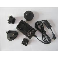 China Interchangeable plug power adapter 12V 1A AC/DC switching power supply with EU,UK,AU,USA on sale