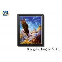 Buy cheap 0.76mm Thickness 3D Lenticular Poster For Holiday Decoration  And  Gift from wholesalers