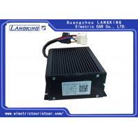 Buy cheap Black Electric Cart Parts Golf Cart DC Converter Dual Output Type 150mm*150mm*45 from wholesalers