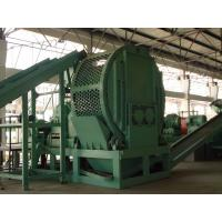 Double Shaft Tyres Recycling Machine 20Mesh - 120Mesh Wear Resistance