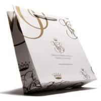 Buy cheap Customize Paper Shopping Bags With Your Own Design, Shopper European Style from wholesalers