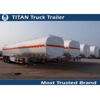 Buy cheap 3 Axles 45000 liters 5 compartments fuel tanker trailer for oil transportation product