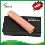 Mechanical mod 18650 battery red copper manhattan mod ecigator ecig Manhattan mod Manufactures