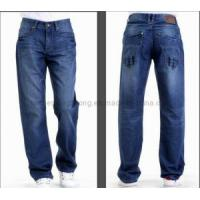 Buy cheap Men Jeans/Casual Jean/Blue Cotton Jeans (AZJ-02) from wholesalers