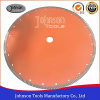 Buy cheap 14 Sintered Diamond Turbo Saw Blade for Wet Cutting Hard Fire Bricks with Hot Press from wholesalers