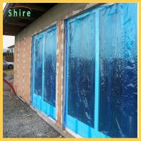 Buy cheap Blue Color Temporary Window Film Rolls Temporary Protection Window Films from wholesalers