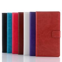 Buy cheap Cell phone case PU Luxury Leather Case for Sony Xperia Z2 with Stand and Card Holders from wholesalers
