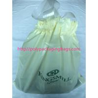 Buy cheap Recyclable Hotel Laundry Drawstring Plastic Bags With LDPE Material from wholesalers