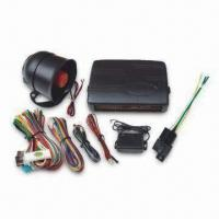 Buy cheap Car Alarm with Emergency Override, Power Cut-off Memory and Power Window Output from wholesalers