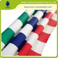 Buy cheap 2016 newest  pvc tarpaulin stripe width awning fabric for carport and tent Tb006 from wholesalers