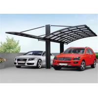 Buy cheap Polycarbonate Home Depot Carport / Powder Coated Arched Roof Carport from wholesalers