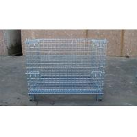 Buy cheap Heavy Weight Loading Wire Container Storage Cages Galvanized Welded Storage Cage from wholesalers