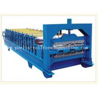 12Mpa Roof Double Layer Roll Forming Machine With 0.3mm - 0.8mm Color Steel Manufactures