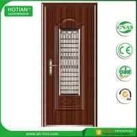 China CE approved steel bedroom door safety steel entry door with competitive price on sale
