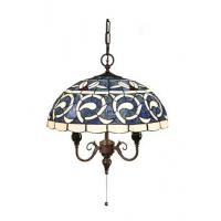 Buy cheap kapok Crescent moon Design Living Meeting Room Tiffany Lamps from wholesalers