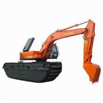Buy cheap Amphibious Excavator, Equipped with Isuzu Engine, 8.2m Pontoon, 10m Working Radius, 0.8m3 Bucket from wholesalers