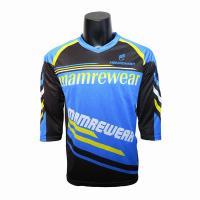 Buy cheap Premium Mountain Bike Enduro Jersey / Team Cycling Jerseys For Men OEM  Service from wholesalers