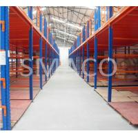 Buy cheap Selective Warehouse Storage Solution Mezzanine Floor System With Storage Racking from wholesalers