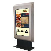 Buy cheap Advertising Outdoor Touch Screen Kiosk LCD Digital Signage High Brightness from wholesalers