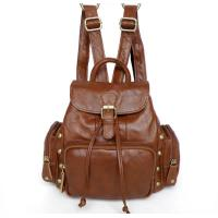 Buy cheap Girl Children Fashion Genuine Vintage Leather Backpack Shoulder Bag Purse #3013R-1 from wholesalers