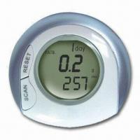 Buy cheap Radio Pedometer with Double Lines Display and Calorie Count from wholesalers