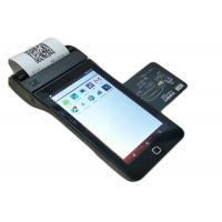 Buy cheap Android Wireless Mobile Credit Card Payment Terminal With NFC / Printer / MSR from wholesalers