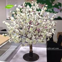 China GNW BLS067 Artificial white cherry blossom trees small bonsai Wedding Centerpieces on sale