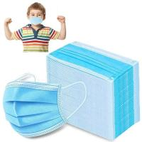Buy cheap 3 Ply Childrens Medical Masks , Kids Surgical Mask 12.5*8.5cm Small Size from wholesalers