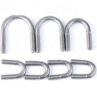 Buy cheap Pipe Threaded U Bolt For 6 Inch Lift Corrosion Resistance DIN 3570 from wholesalers