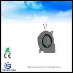 2.4 Inch DC Blower Fan 60 ×60 ×18mm 5v 12v 24v  DC Snail Fan /  LED Machine Fan Manufactures