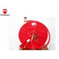 Buy cheap 30m Fixed SS Fire Hose Roller Fire Hydrant Hose Ming Mounted Installation from wholesalers