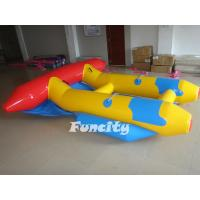 Good Quality  0.9mm PVC Tarpaulin Inflatable Fly Fish for Adults and Kids Water Park Games Manufactures