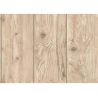 Buy cheap Pvc Anti Static Wood Solid Color Removable Wallpaper , Contemporary Bedroom Wallpaper from wholesalers