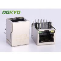 Buy cheap Ethernet Cable RJ45 Modular Jack Waterproof with Lan Transfomer PCB mount from wholesalers