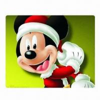 Buy cheap Promotional Mouse Mat/Pad, Made of Rubber and Polyester with Full Color Printing from wholesalers
