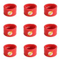 Buy cheap Cheap custom printed rubber silicone slap bracelet, silicone slap wristband ,silicone slap bands from wholesalers