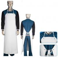 China PVC Butcher Style Protective Clothing Aprons Reusable Oil Resistant Waterproof on sale