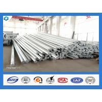Wholesale Philippines Nea Standard Q345 40FT Hot Dip Galvanized Power Line Steel Pole from china suppliers