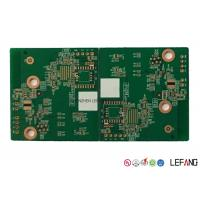 Wholesale 4L 1.0mm TG 230 High Temperature PCB , Contract PCB Assembly For Communication from china suppliers