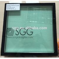 Buy cheap double glass window french green glass+ clear float glass from wholesalers