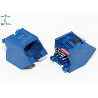 Wholesale 45 Degree Unshielded Lan Connector 8P8C Thru - Hole Type For RJ45 Junction from china suppliers