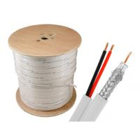 SINOWELL Copper CCA CCS Power + rg6 siamese cable 1000 ft Spool Indoor Manufactures