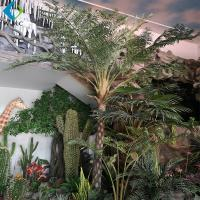 Wholesale Alsophila Spinulosa Artificial Palm Trees With Fiberglass Trunk Easy Install from china suppliers