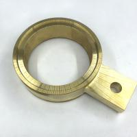 China OEM Rapid CNC Brass Parts Electrically Conductive With Longer Service Life on sale
