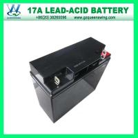 Buy cheap 12V17ah Valve Regulated Lead-Acid Battery (QW-BV17A) from wholesalers