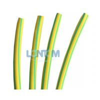 Buy cheap Green Yellow Heat Shrinkable Tubing from wholesalers