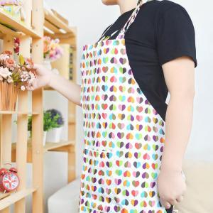Custom Printed Cotton Kitchen Apron Canvas Fabric Uniform No Sleeve Manufactures