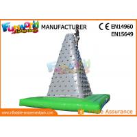 Buy cheap Big Inflatable Sports Games Outdoor Air Rock Climbing Wall CE UL SGS from wholesalers